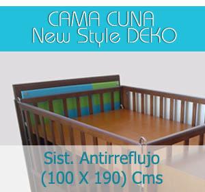 cama cuna new style