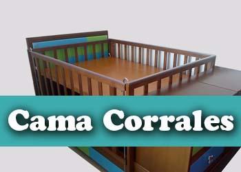 cama corrales para bebe muebles infantiles